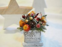 クリスマスミニアレンジ